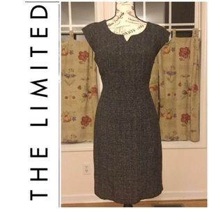 The Limited Gray Tweed Dress Size 8